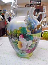 Noritake Morimura Floral pillow Vase