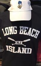 VERY COOL NEW LONG BEACH ISLAND [NAVY] +LONG SLEEVE T TEE SHIRT!____LBI