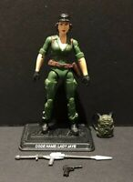 G.I. Joe 25th 30th 50th ROC POC Lady Jaye V6 Figure Complete