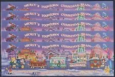 T428. 5x Grenada - MNH - Animation - Disney - Trains - Christmas - 1