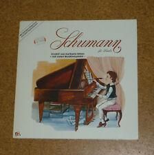 LP Schumann für Kinder erzählt von Karlheinz Böhm ades rar  Top Zustand