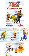 Yujin Legend of Zelda phantom Hourglass GASHAPON 5Figure