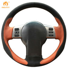 Leather Suede Steering wheel Cover for Nissan 350Z Infiniti FX FX35 FX45 #IN04