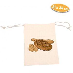 Aufbewahrungsbeutel für Brot, beige