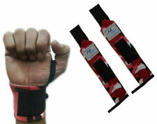 Weight Lifting Wraps Gym Training Fitness Wrist Support Grip Gloves Bandages Men