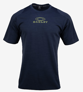 OAKLEY Men Enhance Crew Fashion Navy S/S T-shirt Casual Tee Top Shirts 4580966FB