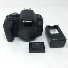 Canon EOS Rebel T7i 24.2 MP Digital SLR Camera - Black (Body Only) READ - 4304