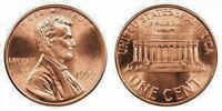 1999 P & D UNCIRCULATED LINCOLN CENTS (2 COINS)