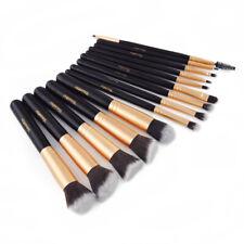 14Pcs Professional Makeup Brush Contour Foundation Eyebrow Eyeliner Face Tool ky