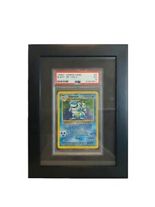 PSA Graded Card Display Frame - All Black