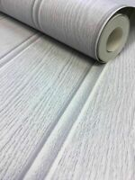 Arthouse Cladding Tongue and Groove Grey Wallpaper 694300 Wood Panel Effect