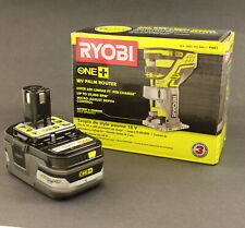 Ryobi P601  Fixed Base Trim Router and P191 HP Battery | Brand New