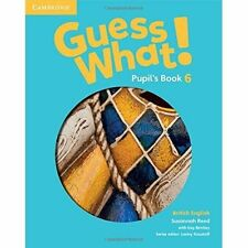 Guess What! Level 6 Pupil's Book British English, Reed, Susannah, Very Good cond