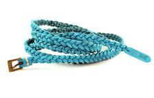 Levi´s Cintura in pelle 219568 Blue Cintura in pelle taglia 85 cm (Breite 1 cm)