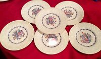 Vintage Wedgwood Etruria & Barlaston Morning Glory 6 Salad Plates England