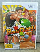 Punch-Out!! Punch Out - Nintendo Wii 🎮 PAL - Complete w/ Manual