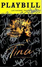 Tina The Tina Turner Musical Signed Autographed Cast Playbill