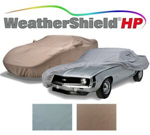 Covercraft Custom Car Covers - WeatherShield HP - Indoor/Outdoor - Gray & Taupe
