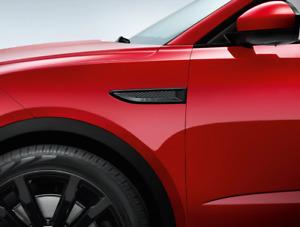 Jaguar E-Pace Gloss Black Side Vent Kit (PRE 21MY ONLY) J9C3055 & J9C3052