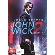 JOHN WICK 2-Keanu Reeves-Region 4-New AND Sealed
