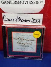 A Christmas Songbook 12 Karaoke Carols Philips CD-i
