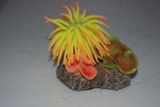 Décorations jaunes corail artificiel pour aquarium, bassin et mare