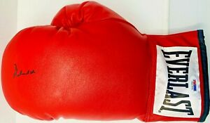 Muhammad Ali Signed Leather Everlast Boxing Glove in Black PSA ITP 5A42492