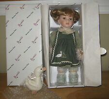 "Duck House Heirloom Limited Edition Porcelain Doll  ""Norah"" NRFB  11"" Tall"