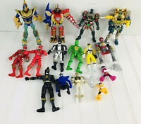 Mixed LOT MIGHTY MORPHIN POWER RANGERS Figures Bendable