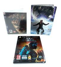 Lot Trilogie Dead Space jeux Sony Playstation 3 PS3 PAL FR Dont Ed. Limitée