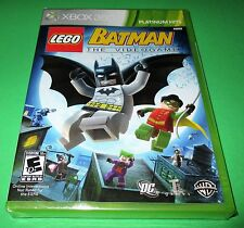 LEGO Batman: The Videogame Xbox 360 *Factory Sealed! *Free Shipping!