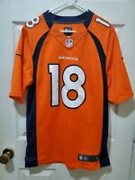 Nike On Field NFL Denver Broncos Payton Manning #18 Jersey Size Small F11