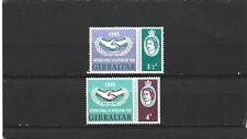Gibraltar 1965 ICY Set MNH
