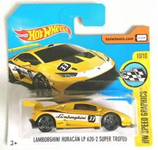 valore Long CARD HOT Wheels-LAMBORGHINI huracanlp 620-2 Super Trofeo grigio
