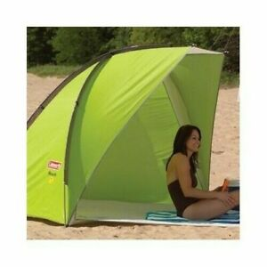 Coleman Beach Shade Canopy Tent Wind SunShade Camping Cabana Playpen Baby Sleep