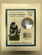 Carolina Panthers Santas Gift Christmas Ornament The Memory Company