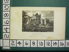 1808 DATED ANTIQUE PRINT ~ HOLTON HOUSE OXFORDSHIRE ~ J. STORER