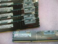 QTY 1x 16GB DDR3 4Rx4 PC3-8500R ECC Registered memory HP PN 500207-071