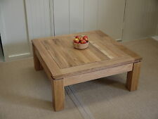 Brunel Copenhagen Solid Oak Large Square Coffee Table Oiled Rrp 550