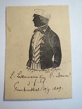 Frankenthal 1849-Ludwig Lattermann-SILHOUETTE SILHOUETTE/Studentika