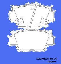 Bremsbeläge hinten Honda NSX (NA) Coupe & Cabrio alle