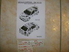 MEGANE MAXI KIT CAR RALLYE DU LIBAN 1998 JEAN PIERRE NASHRALLAH DECALS