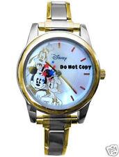 Disney Mickey Mouse Goofy Donald Italian Charm Watch