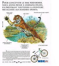 PUBLICITE ADVERTISING  1990    MBK   vélo
