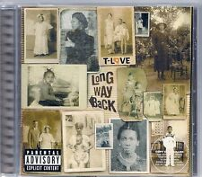 CD ALBUM 14 TITRES--T-LOVE--LONG WAY BACK--2003