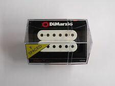 DiMarzio F-spaced Titan Neck Model Humbucker White W/Black Poles DP 258