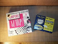 Vintage Empire Jump Puzzle Game & Bridgepoint Playing Cards for Bridge Bidding