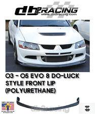 DO LUCK JDM Style Mitsubishi Lancer EVO 8 Front Lip (Urethane), 2003-2005