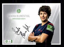 Sandra Blumenthal AUTOGRAFO scheda DFB arbitro ORIGINALE FIRMATO + a 133390