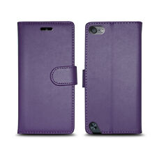 **LEATHER WALLET PHONE CASE COVER FOR APPLE IPOD TOUCH 5 5TH GENERATION VERSION